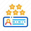 best, favorite, interface, mark, network, review, star
