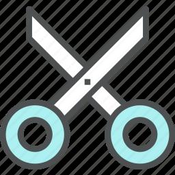 cut, cutting, edge, edit, instrument, scissors, tool icon