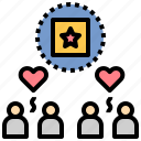 customer, loyalty, product, trust, user icon