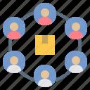 consumer, customer, loyalty, product, user icon