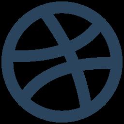brand, dribbble, logo icon icon