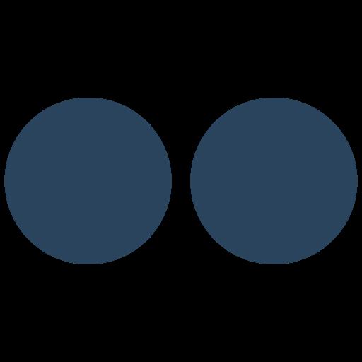 flickr, logo icon icon