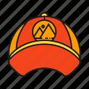 brand, branding identity, cap, hat, wear icon