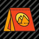 advertising, banner, brand, branding identity, calendar, schedule icon