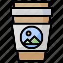 away, coffee, cup, paper, shop, take