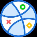 brand, dribbble, logo, network, social icon