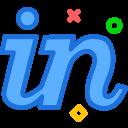 brand, invision, logo, network, social icon