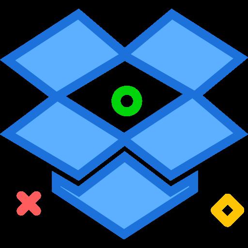 brand, dropbox, logo, network, social icon