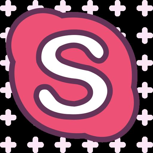 brand, logo, network, skype, social icon