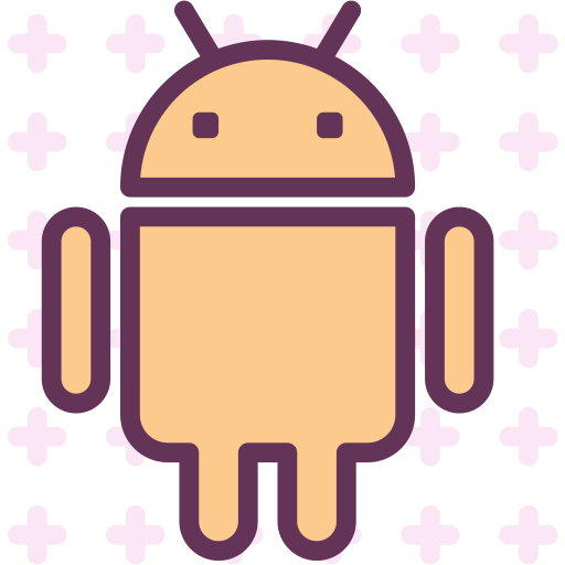 android, brand, logo, network, social icon