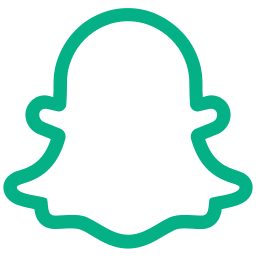 app, chat, ghost, photo, snapchat icon icon
