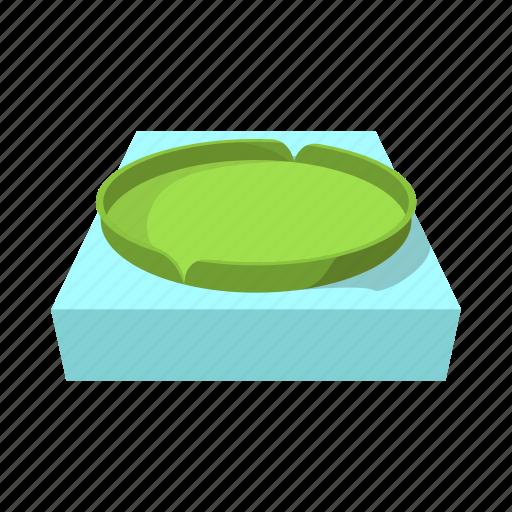 cartoon, forest, green, huge, lake, round, victoria icon