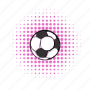 ball, brazil, comics, competition, football, game, soccer icon