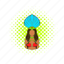 brazilian, comics, costume, dancer, girl, rio, samba icon