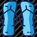 brazil, carnival, flip, flops, sandals icon
