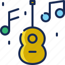 brazil, carnival, guitar, instrument, music icon