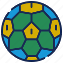 ball, brazil, brazilian, celebration, football, soccer, sports icon