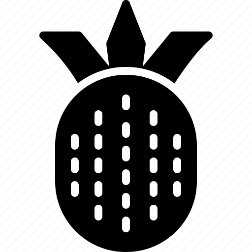 brazil, fruit, pineapple, tropical icon