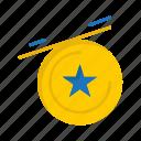 brazil, brazilian, carnival, celebration, medal, star icon