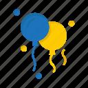 balloons, brazil, brazilian, carnival, celebration, decoration icon
