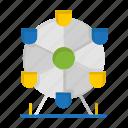 atomium, brazil, brazilian, carnival, celebration, landmark, monument icon