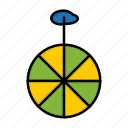 brazil, brazilian, carnival, celebration, circus, cycle, wheel icon