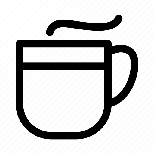 bakery, coffee, drink, glass icon