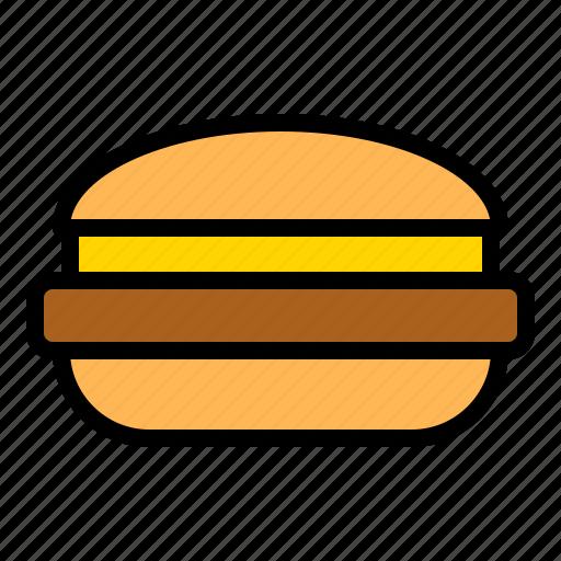 cheese, fast food, hamburger, junk food, meat icon