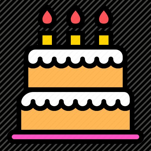 baked, bakery, cake, dessert, sweets icon