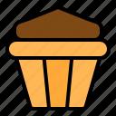 baked, bakery, cake, cupcake, dessert, sweets icon