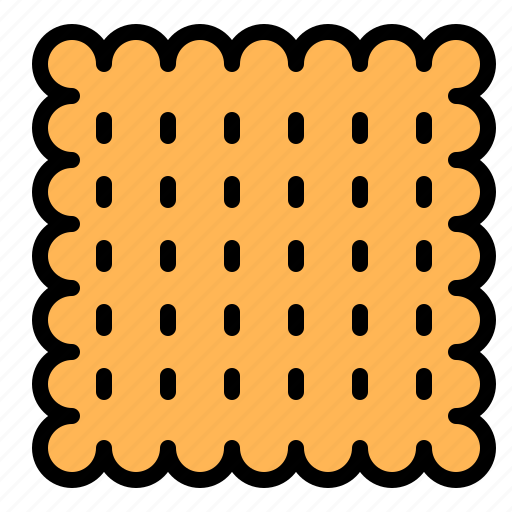 baked, cracker, food, snack, sweets icon
