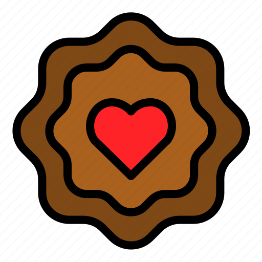baked, biscuit, cookie, food, sweets icon