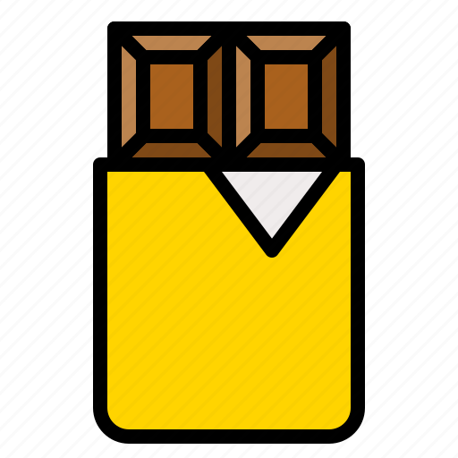bar, cacao, chocolate, cocoa, sweet, sweets icon