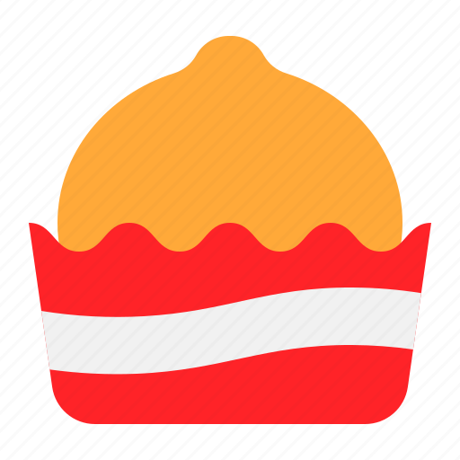 bakery, cake, cupcake, dessert, muffin, sweets icon