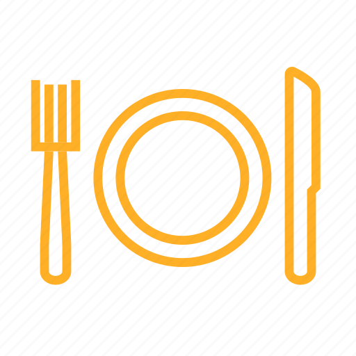 breakfast, cafe, dining room, dish, eat, lunch, restaurant icon