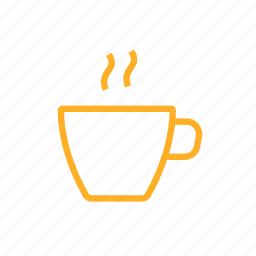 cafe, coffee, cup, hot, morning, tea icon