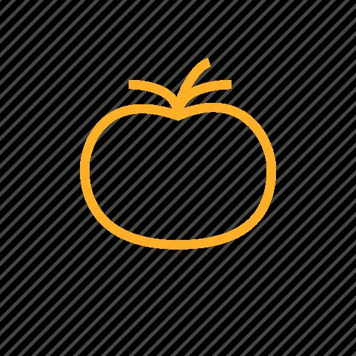 Tomato, apple, healthy, veggie, fruit, vegetable icon