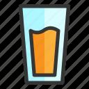 citrus, drink, glass, juice, orange