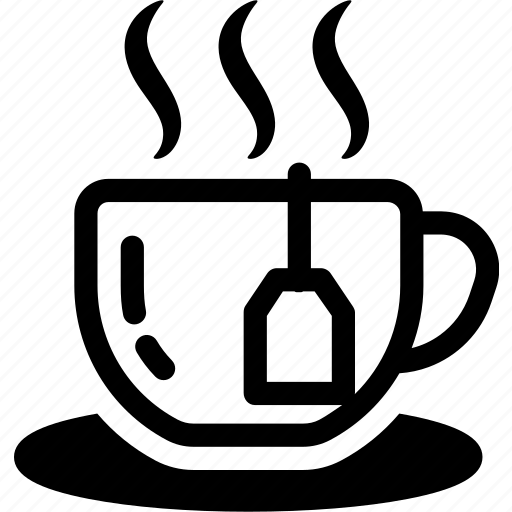 breakfast, coffee, cup, drink, hot, tea icon