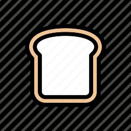 bakery, bread, breakfast, food, fresh, wheat icon