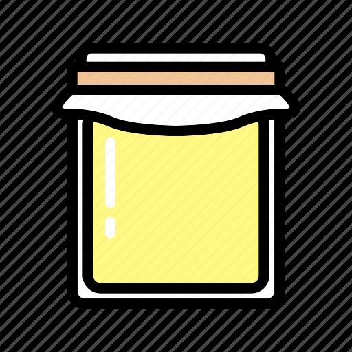 food, jam, jar, marmalade, red, sweet icon