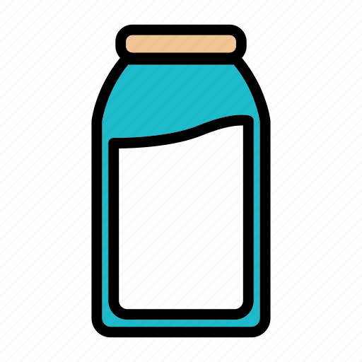 beverage, drink, food, fresh, healthy, milk icon