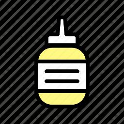 condiment, ingredient, mustard, sauce, seasoning, spicy icon