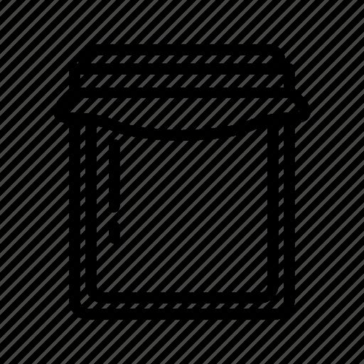 Food, jam, jar, marmalade, red, sweet icon - Download on Iconfinder