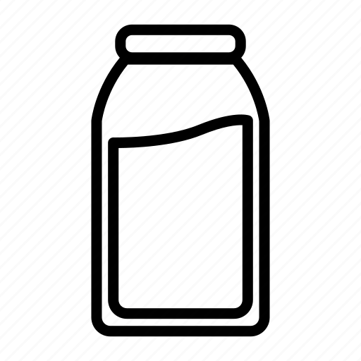 beverage, calcium, drink, fresh, healthy, milk icon