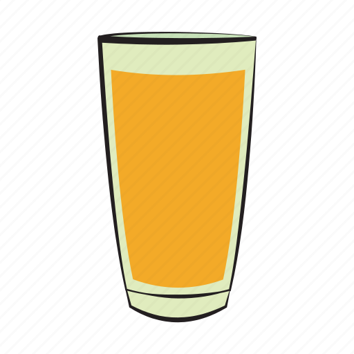 breakfast, drink, food, glass, orange, orange juice icon