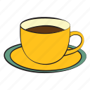 breakfast, coffee, coffee cup, drink icon