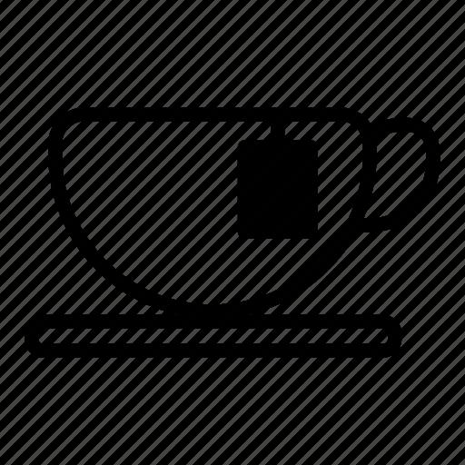 beverage, breakfast, cup, drink, hot, tea icon
