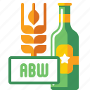 abw, alcohol, brewery, by, weight icon