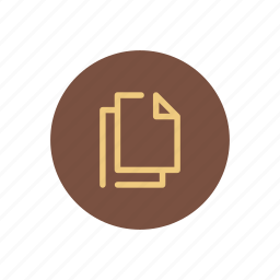 archive, copy, docs, documents, files, my, system icon